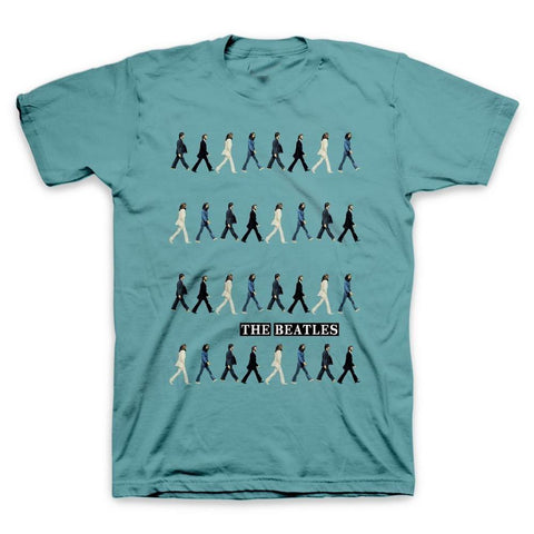 Beatles Abbey Road Repeat Men's T-Shirt