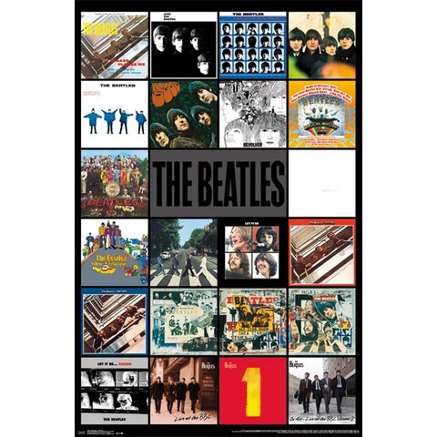 Beatles Albums Poster