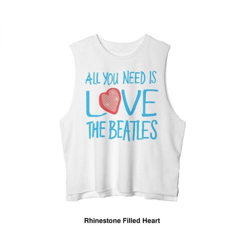 Beatles All You Need Is Love Women's Tank T-Shirt