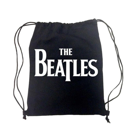 Beatles Basic Logo Drawstring Bag