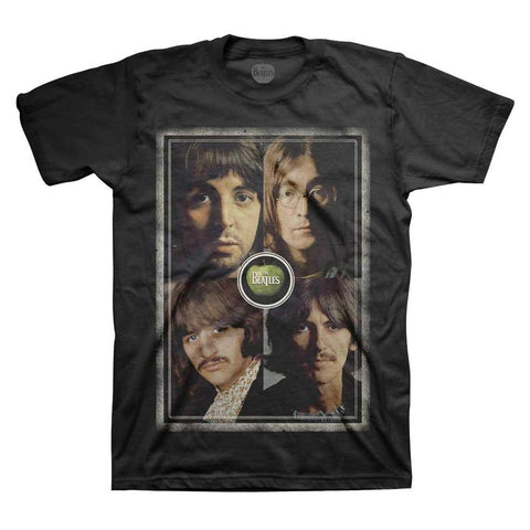 Beatles Beatles Faces Men's T-Shirt