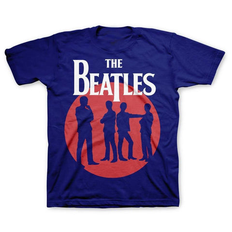 Beatles Circle Silhouettes Youth T-Shirt