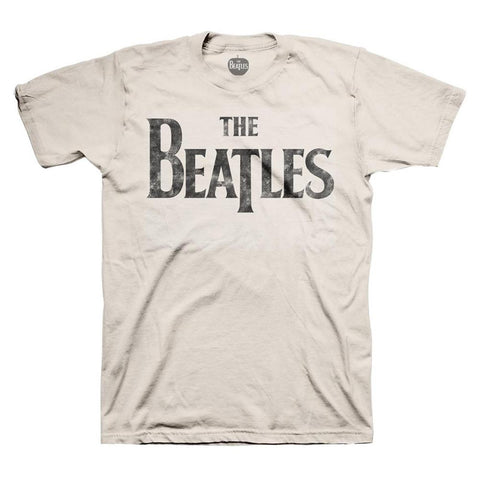 Beatles Distressed Logo Men's T-Shirt