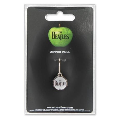 Beatles Drum Zipper Pull Charm
