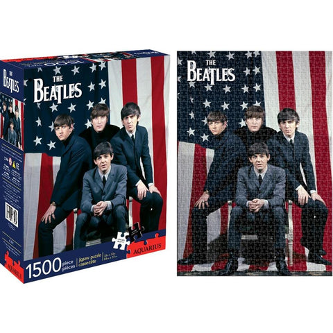 Beatles Flag Puzzle