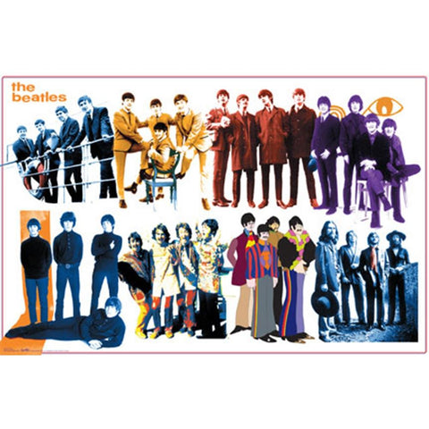 Beatles Groups Poster