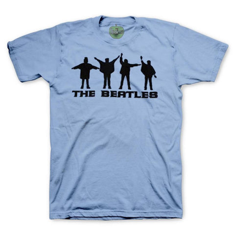 Beatles Help! Silhouettes Men's T-Shirt