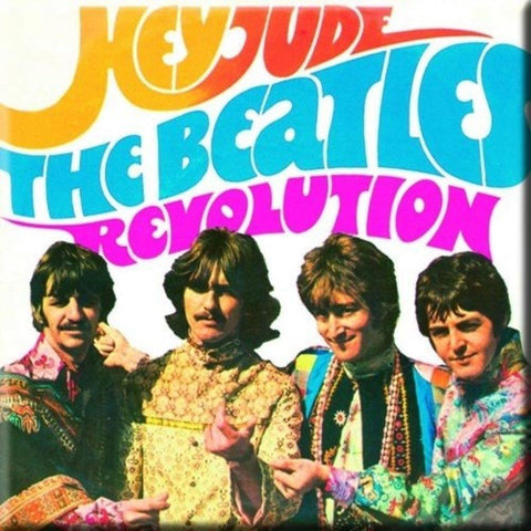 Beatles Hey Jude Revolution Magnet