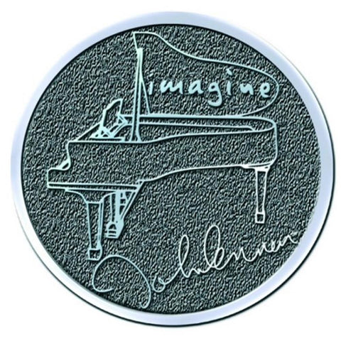 Beatles John Lennon Imagine Button