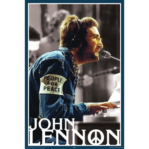Beatles John Lennon People For Peace Wall Poster