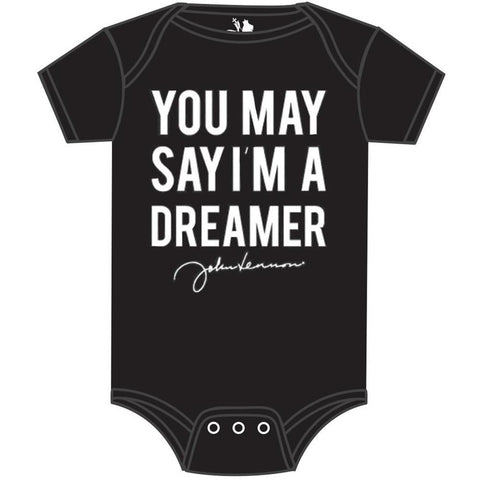 Beatles John Lennon Say I'm A Dreamer Infant One-Piece Bodysuit