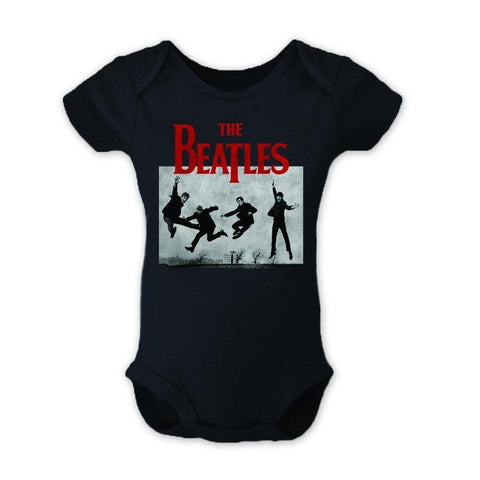 Beatles Jump Photo Infant One-Piece Bodysuit