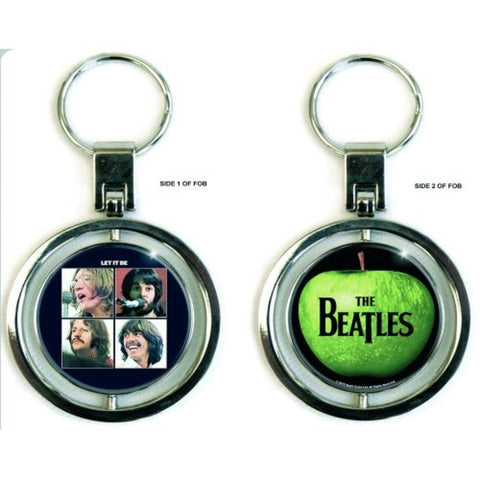 Beatles Let It Be Metal Keychain