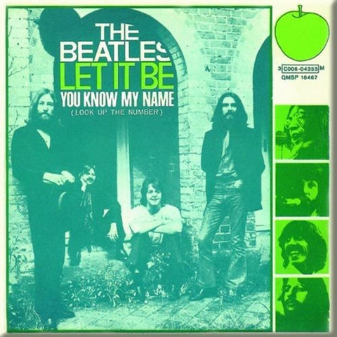 Beatles Let It Be You Know My Name Magnet