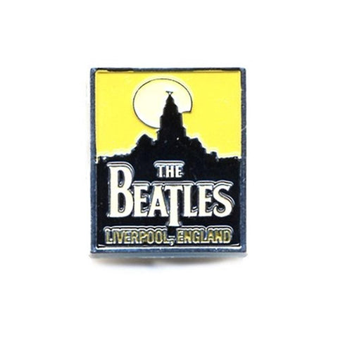 Beatles Liverpool Button