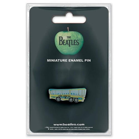 Beatles Magical Mystery Tour Bus Button