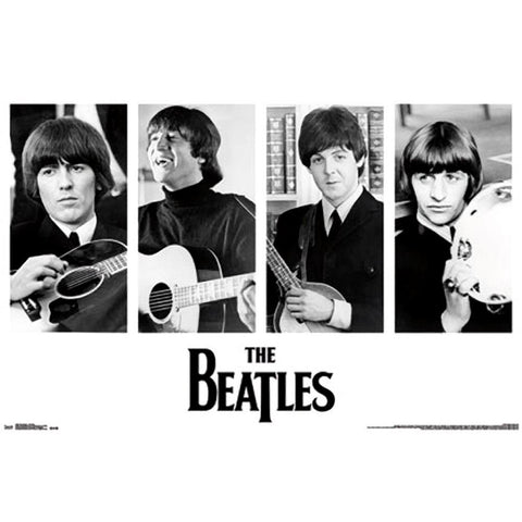 Beatles Portraits Wall Poster