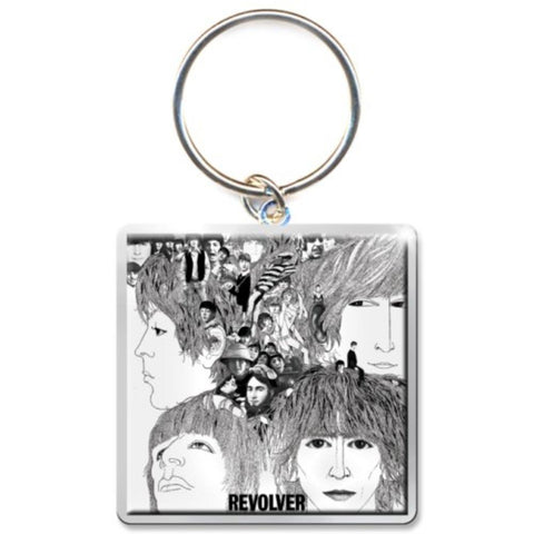 Beatles Revolver Album Keychain