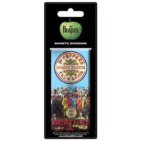 Beatles Sgt. Pepper Magnetic Bookmark