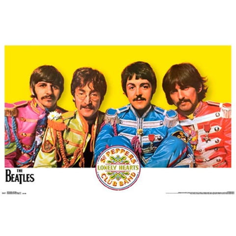 Beatles Sgt. Peppers Poster