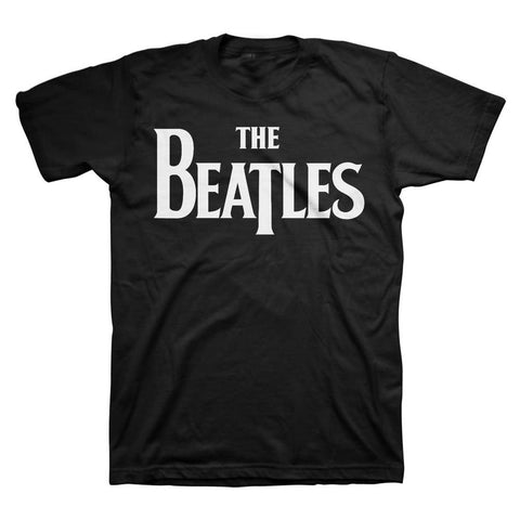 Beatles Solid Logo Men's T-Shirt