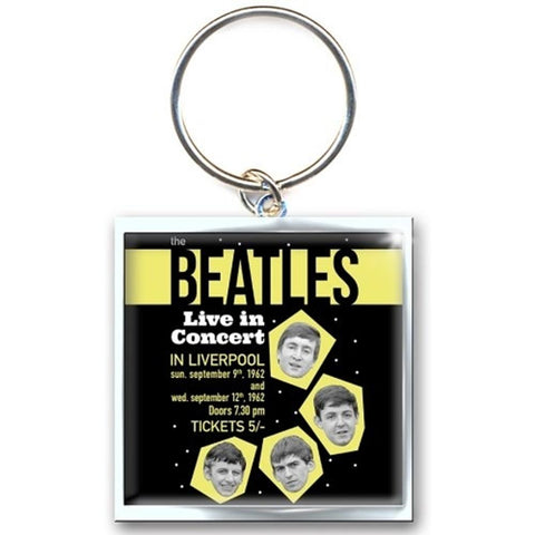 Beatles Live In Concert Keychain