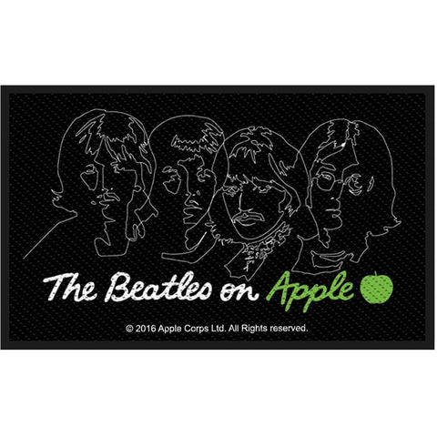 Beatles On Apple Woven Patch