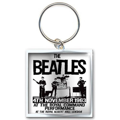 Beatles Prince Of Wales Theatre Metal Keychain
