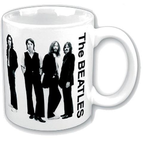 Beatles White Group Boxed Mug