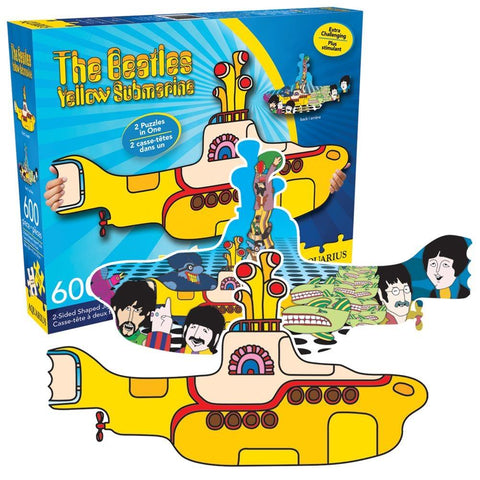 Beatles Yellow Sub Puzzle