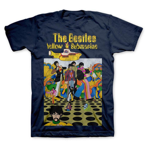 Beatles Yellow Submarine Whack-A-Mole Men's T-Shirt
