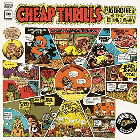 Big Brother And The Holding Company - Cheap Thrills - Vinyl LP
