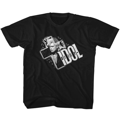 Billy Idol Special Order Cross It Out Toddler S/S T-Shirt