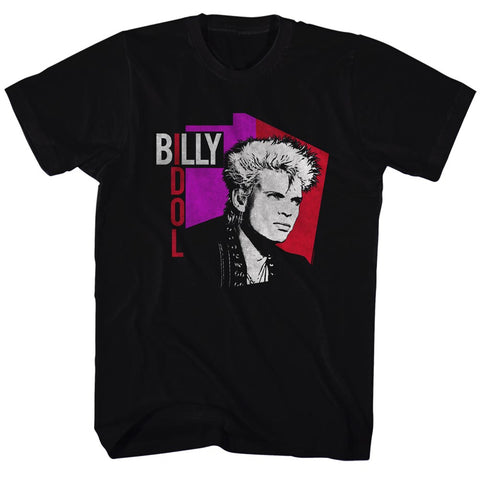 Billy Idol Special Order Vintage Idol Adult S/S T-Shirt