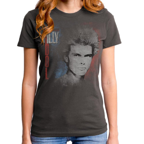 Billy Idol Don't Stop Relic Women's Premium Soft T-Shirt
