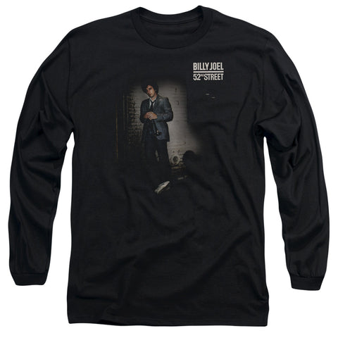 Billy Joel Special Order 52Nd Street Men's 18/1 Long Sleeve 100% Cotton T-Shirt