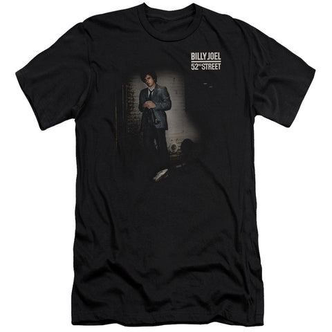 Billy Joel Special Order 52Nd Street Men's 30/1 100% Cotton Slim Fit Short-Sleeve T-Shirt