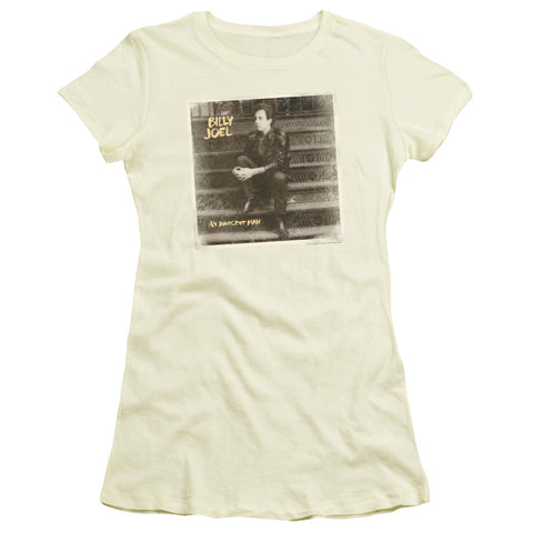 Billy Joel Special Order An Innocent Man Junior's 30/1 100% Cotton Cap-Sleeve Sheer T-Shirt