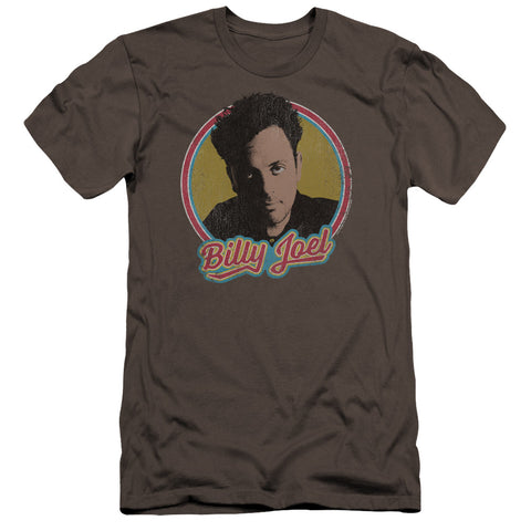 Billy Joel Special Order Billy Joel Men's Premium Ultra-Soft 30/1 100% Cotton Slim Fit T-Shirt - Eco-Friendly - Made In The USA