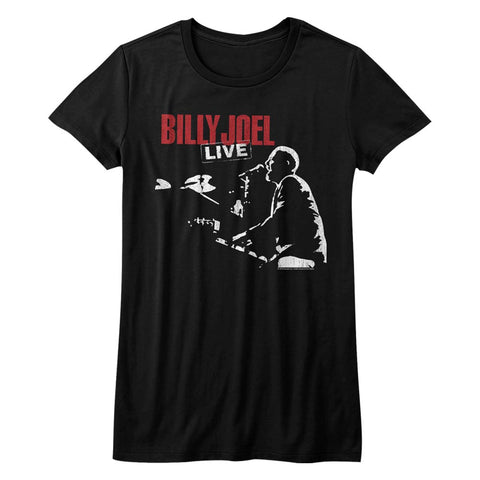 Billy Joel Special Order 81 Tour Juniors S/S T-Shirt