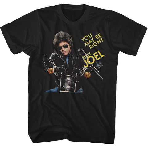 Billy Joel Special Order You May Be Right Adult S/S T-Shirt