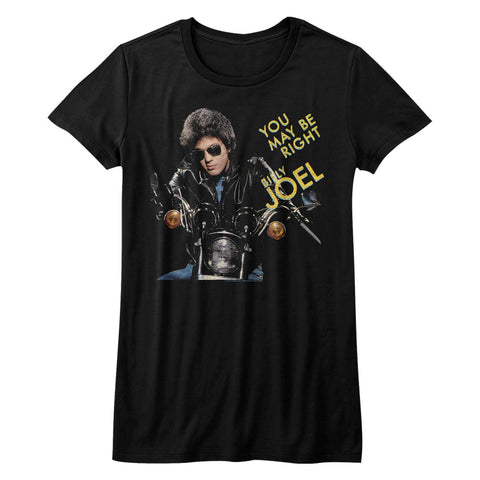 Billy Joel Special Order You May Be Right Juniors S/S T-Shirt