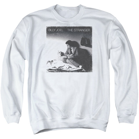 Billy Joel Special Order The Stranger Men's Crewneck 50% Cotton 50% Poly Long-Sleeve Sweatshirt