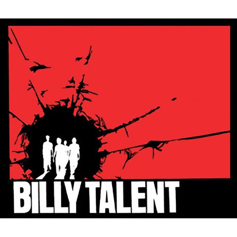 Billy Talent Silhouette Sticker