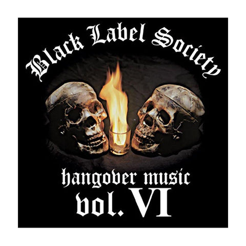 Black Label Society Hangover Music Button