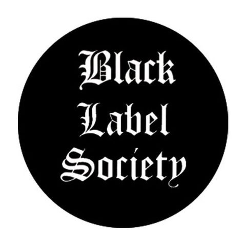 Black Label Society Logo Button