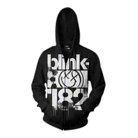 Blink-182 3 Bars Men's Zip Hoodie