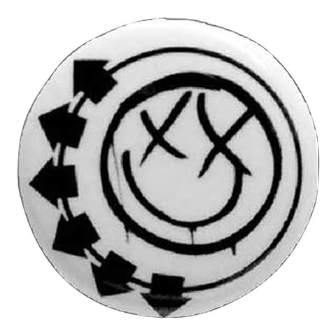 Blink-182 Smiley Button