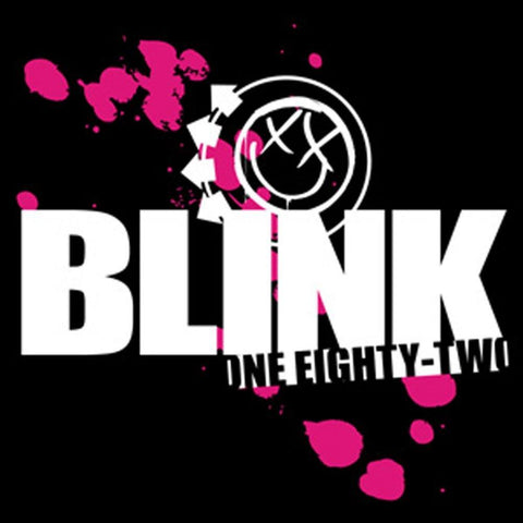 Blink-182 Splatter Logo Sticker