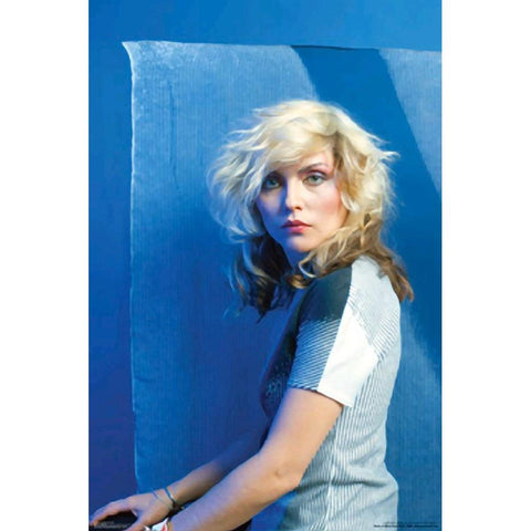 Blondie Blue Image Wall Poster
